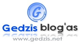 Gedzis Blog'as logo