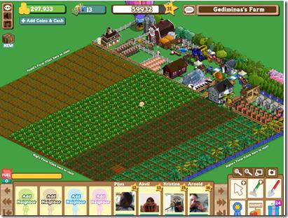 1 vieta – FarmVille