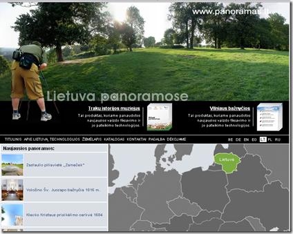 Lietuva panoramose