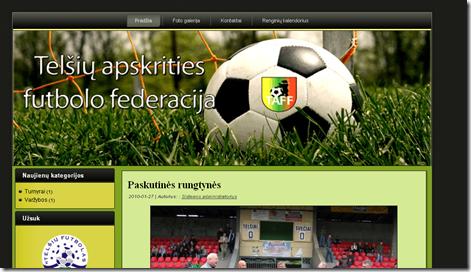 TAFF svetainė