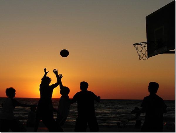 Krepšinis vasarą